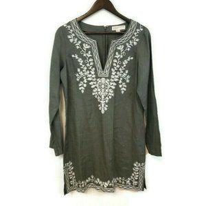 Michael Kors Womens Olive Green Tunic Dress